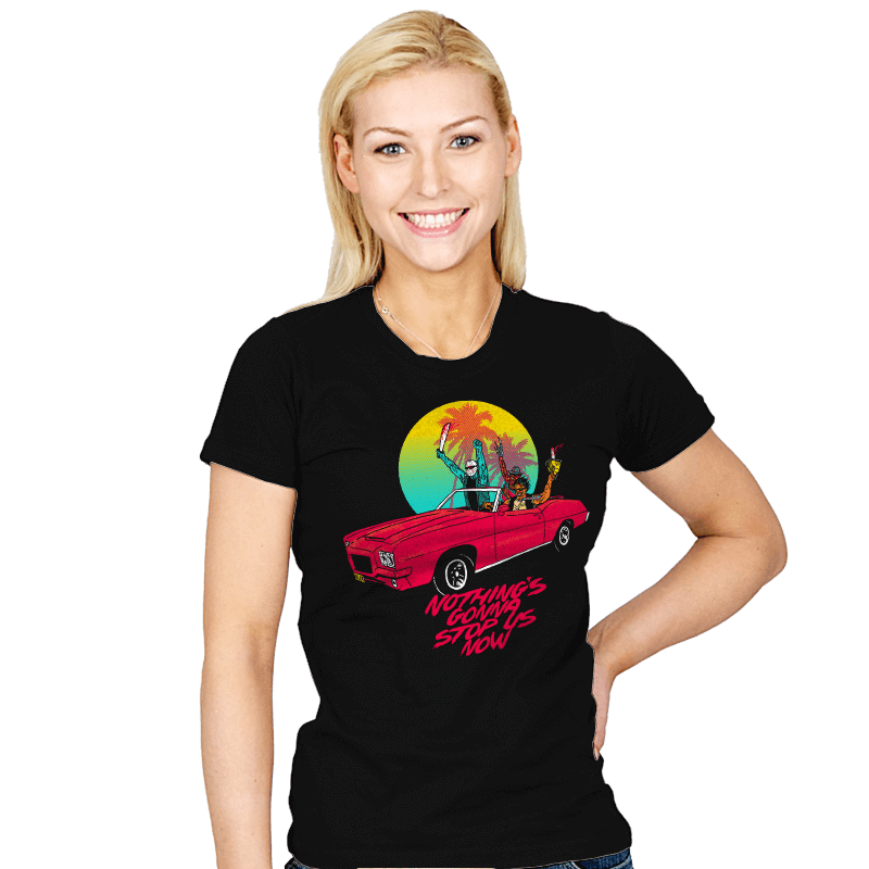 Nothing's Gonna Stop Us - Womens - T-Shirts - RIPT Apparel