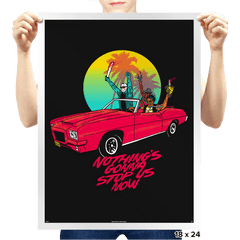 Nothing's Gonna Stop Us - Prints - Posters - RIPT Apparel