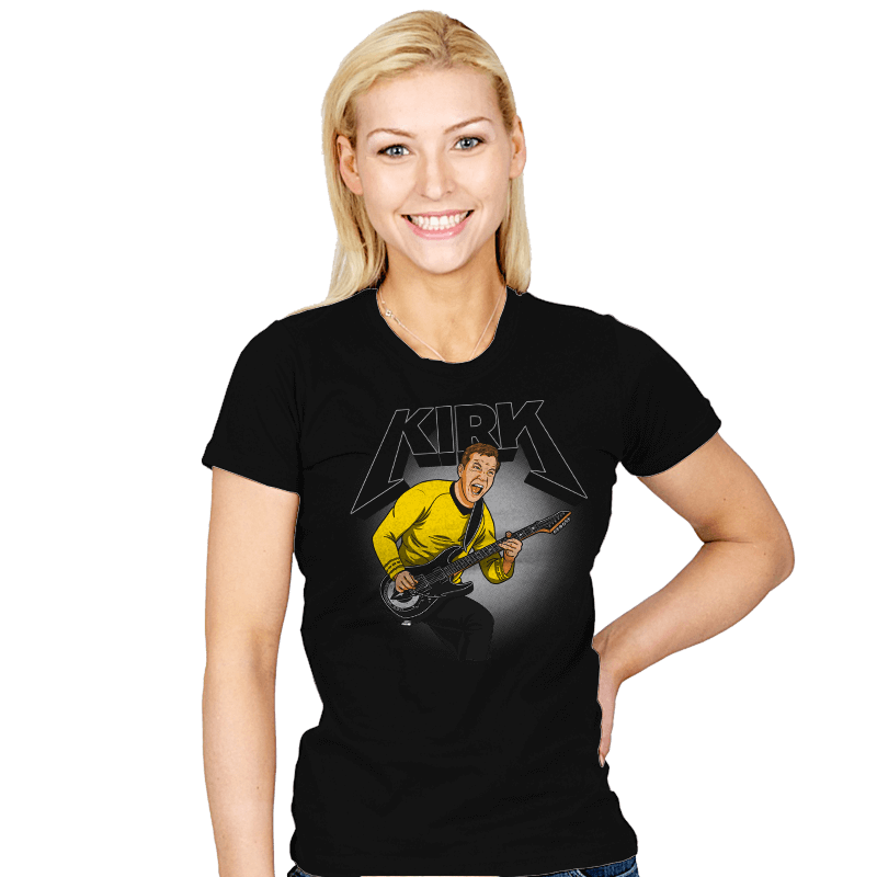 Kirk - Womens - T-Shirts - RIPT Apparel