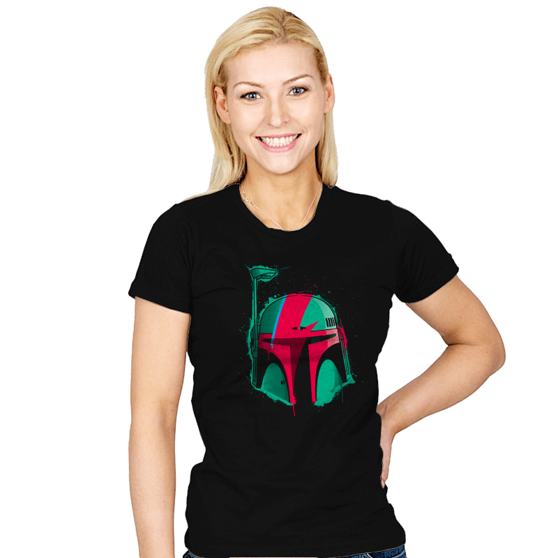 Boba Bowie - Womens - T-Shirts - RIPT Apparel