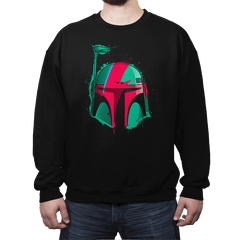 Boba Bowie - Crew Neck Sweatshirt - Crew Neck Sweatshirt - RIPT Apparel