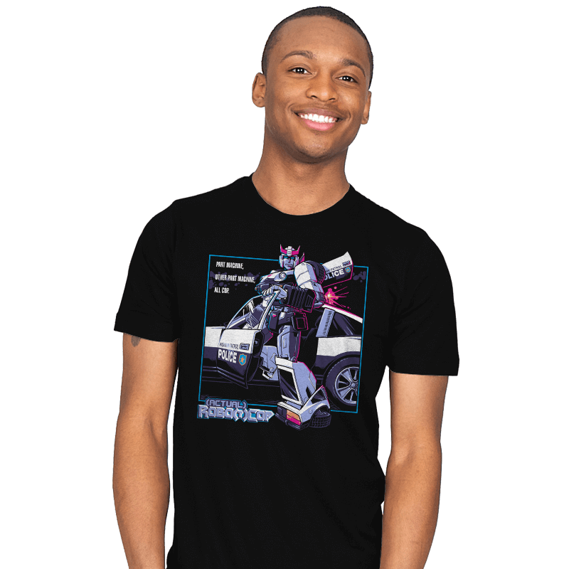 (Actual) Robo(t)Cop - Mens - T-Shirts - RIPT Apparel