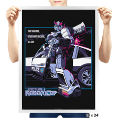 (Actual) Robo(t)Cop - Prints - Posters - RIPT Apparel