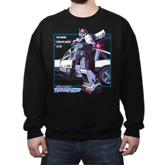 (Actual) Robo(t)Cop - Crew Neck Sweatshirt - Crew Neck Sweatshirt - RIPT Apparel