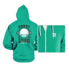 Robot Depreciation Society - Hoodies - Hoodies - RIPT Apparel