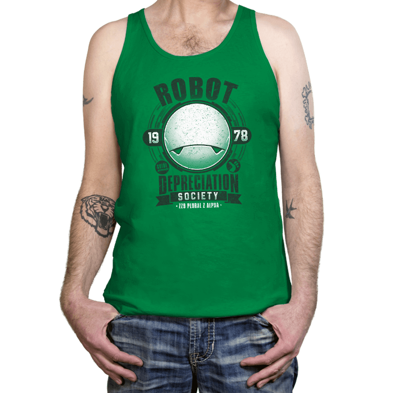 Robot Depreciation Society - Tanktop - Tanktop - RIPT Apparel