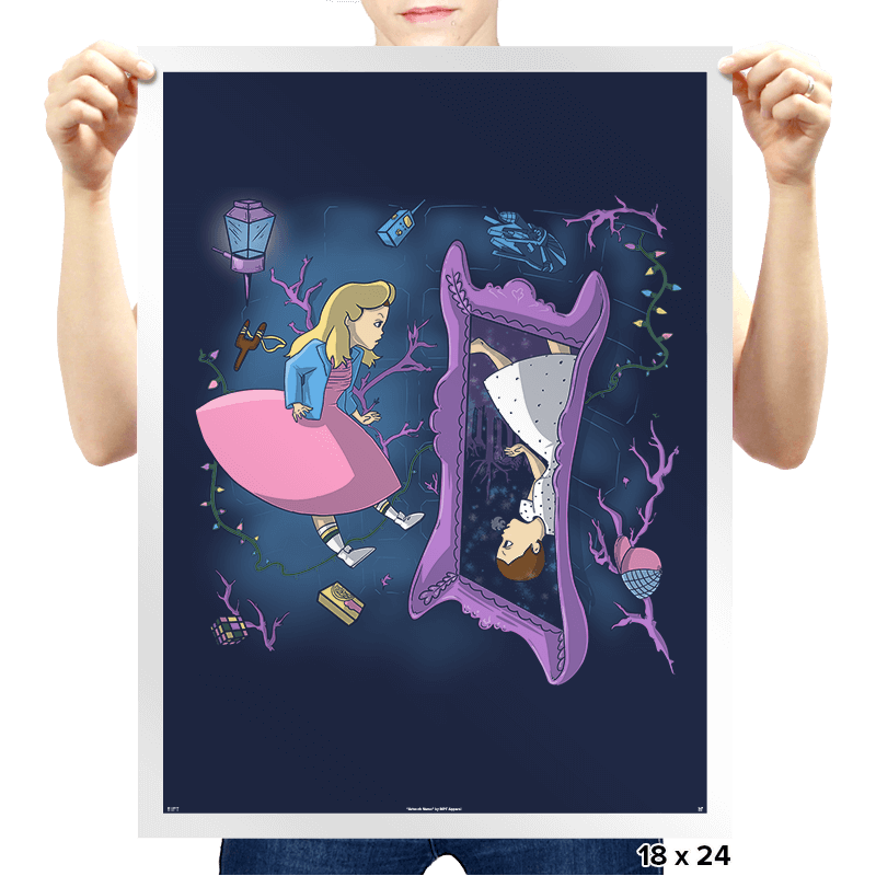 Eleven in Upside Downland Exclusive - Prints - Posters - RIPT Apparel