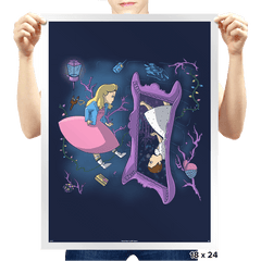 Eleven in Upside Downland - Prints - Posters - RIPT Apparel