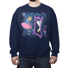 Eleven in Upside Downland - Crew Neck Sweatshirt - Crew Neck Sweatshirt - RIPT Apparel
