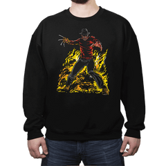 DreamDevil - Crew Neck Sweatshirt - Crew Neck Sweatshirt - RIPT Apparel