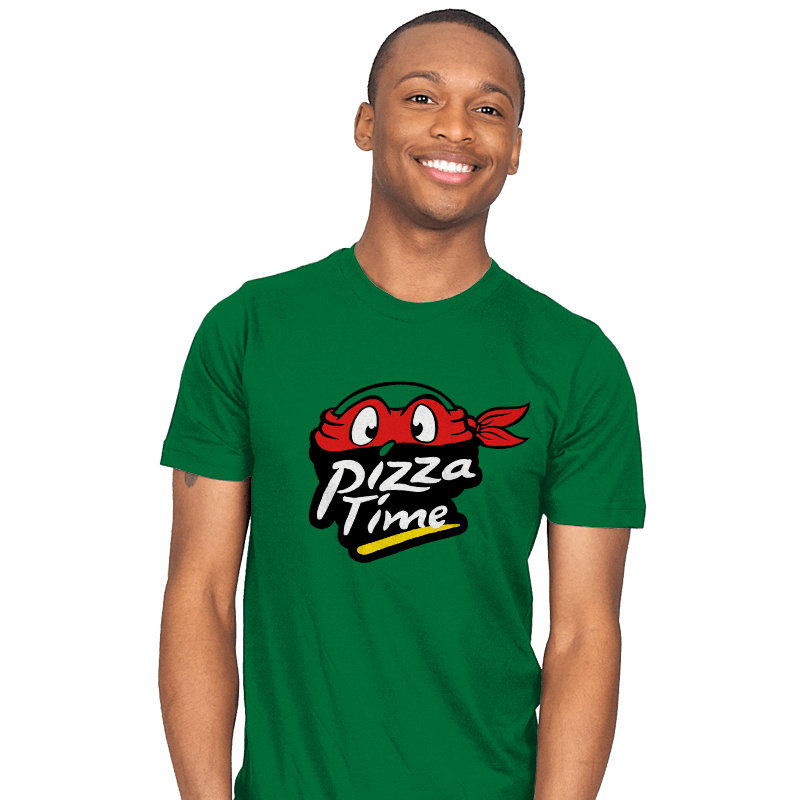 Pizza Time - Mens - T-Shirts - RIPT Apparel