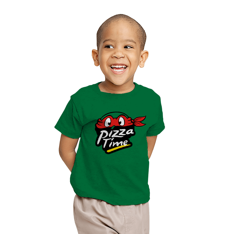 Pizza Time - Youth - T-Shirts - RIPT Apparel