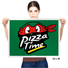 Pizza Time - Prints - Posters - RIPT Apparel