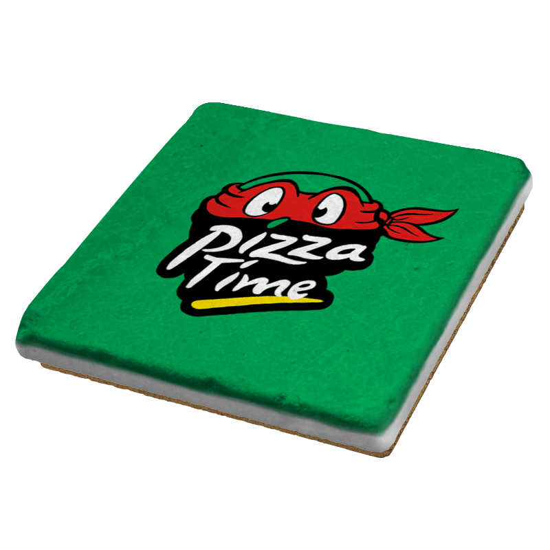 Pizza Time - Coasters - Coasters - RIPT Apparel