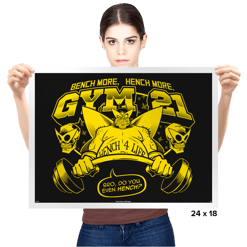 Gym 21 Exclusive - Prints - Posters - RIPT Apparel