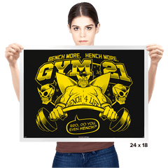 Gym 21 - Prints - Posters - RIPT Apparel