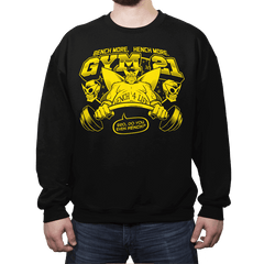 Gym 21 - Crew Neck Sweatshirt - Crew Neck Sweatshirt - RIPT Apparel