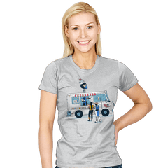 Sub Z's Frozen Treats Exclusive - Womens - T-Shirts - RIPT Apparel