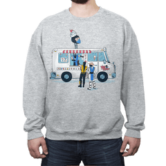 Sub Z's Frozen Treats - Crew Neck Sweatshirt - Crew Neck Sweatshirt - RIPT Apparel