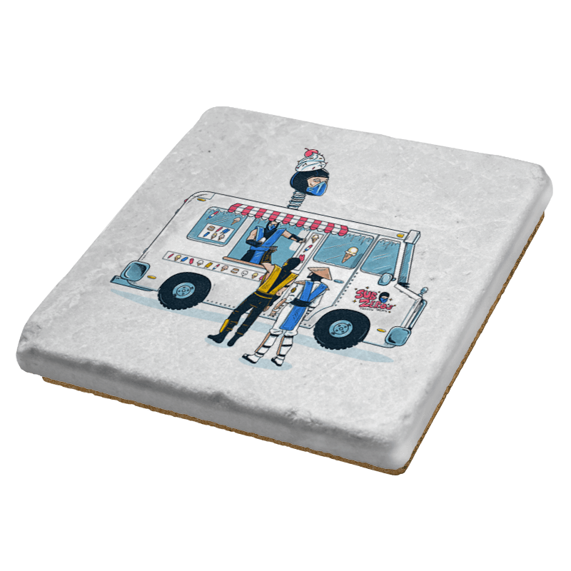 Sub Z's Frozen Treats Exclusive - Coasters - Coasters - RIPT Apparel
