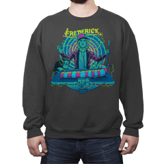It's Alive! - Crew Neck Sweatshirt - Crew Neck Sweatshirt - RIPT Apparel