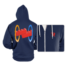 Now You're Building With Portals! - Hoodies - Hoodies - RIPT Apparel