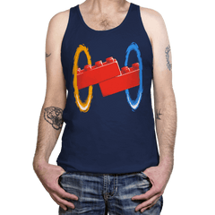 Now You're Building With Portals! - Tanktop - Tanktop - RIPT Apparel