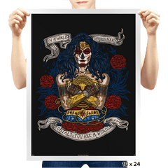 Day of the Dead Wonder - Prints - Posters - RIPT Apparel