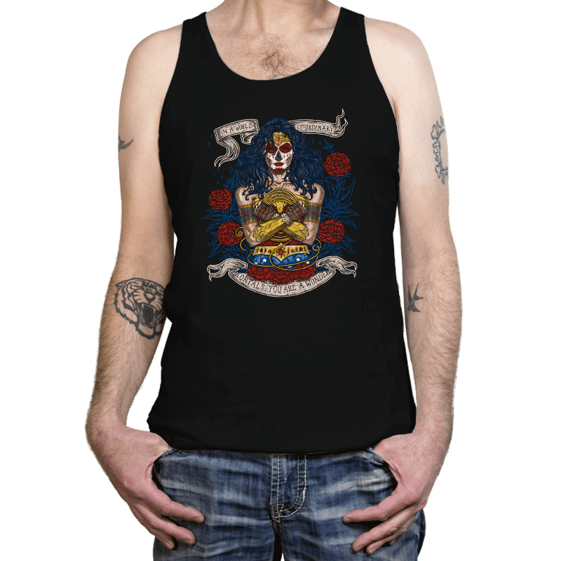 Day of the Dead Wonder - Tanktop - Tanktop - RIPT Apparel