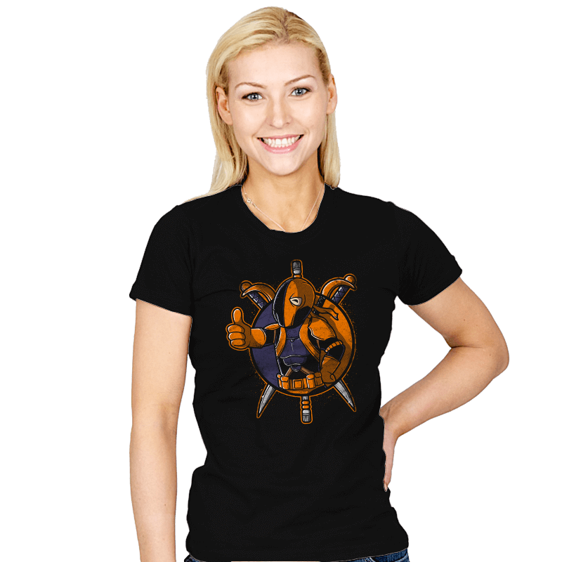 Death Boy - Womens - T-Shirts - RIPT Apparel