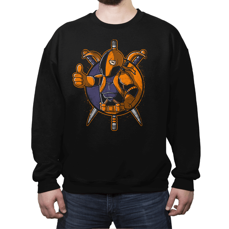 Death Boy - Crew Neck Sweatshirt - Crew Neck Sweatshirt - RIPT Apparel