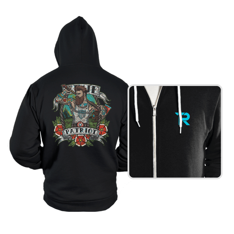 True Patriot - Hoodies - Hoodies - RIPT Apparel