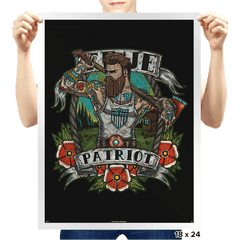 True Patriot - Prints - Posters - RIPT Apparel