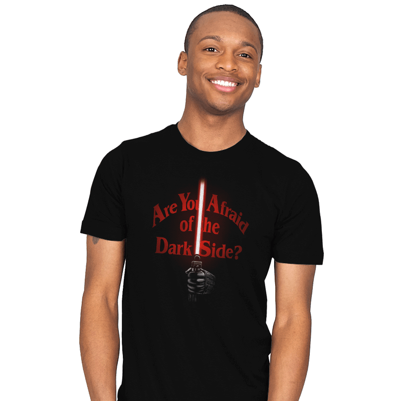Afraid of the Dark Side - Mens - T-Shirts - RIPT Apparel