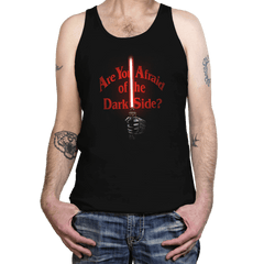 Afraid of the Dark Side - Tanktop - Tanktop - RIPT Apparel