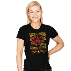 Winchester Farms Haunted Hay Ride - Womens - T-Shirts - RIPT Apparel
