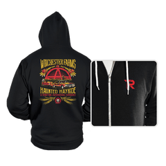 Winchester Farms Haunted Hay Ride - Hoodies - Hoodies - RIPT Apparel