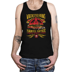 Winchester Farms Haunted Hay Ride - Tanktop - Tanktop - RIPT Apparel