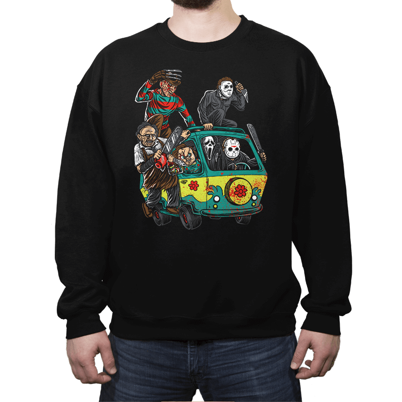 The Massacre Machine - Crew Neck Sweatshirt - Crew Neck Sweatshirt - RIPT Apparel