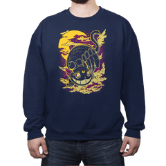 MoonBus - Crew Neck Sweatshirt - Crew Neck Sweatshirt - RIPT Apparel