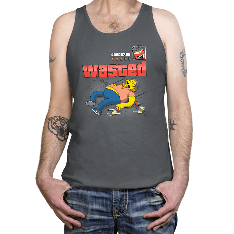 WASTED - Tanktop - Tanktop - RIPT Apparel