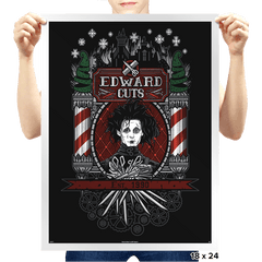 Edward Cuts - Prints - Posters - RIPT Apparel