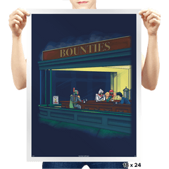 Bounty Hawks Exclusive - Prints - Posters - RIPT Apparel