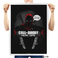 Call of Doody Exclusive - Prints - Posters - RIPT Apparel