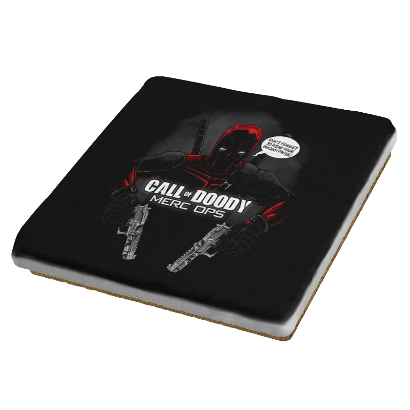 Call of Doody Exclusive - Coasters - Coasters - RIPT Apparel