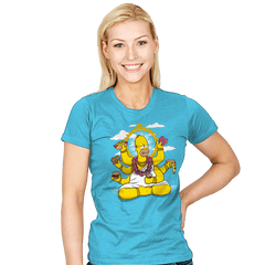 Homervana Exclusive - Womens - T-Shirts - RIPT Apparel