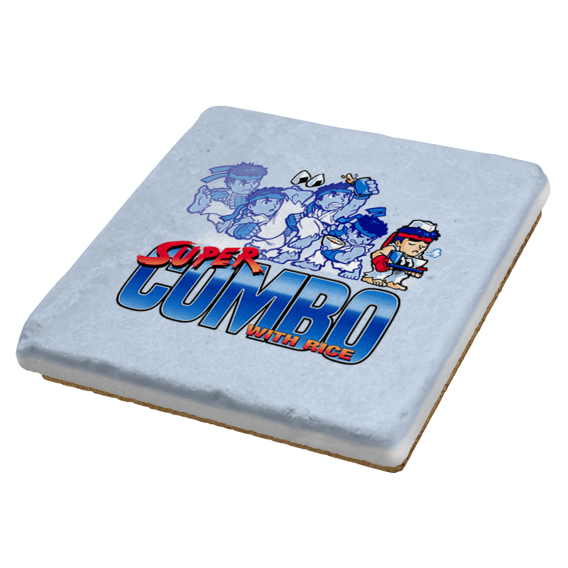 Super Combo with Rice Exclusive - Coasters - Coasters - RIPT Apparel