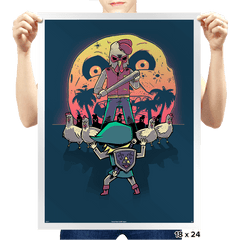The Revenge - Prints - Posters - RIPT Apparel