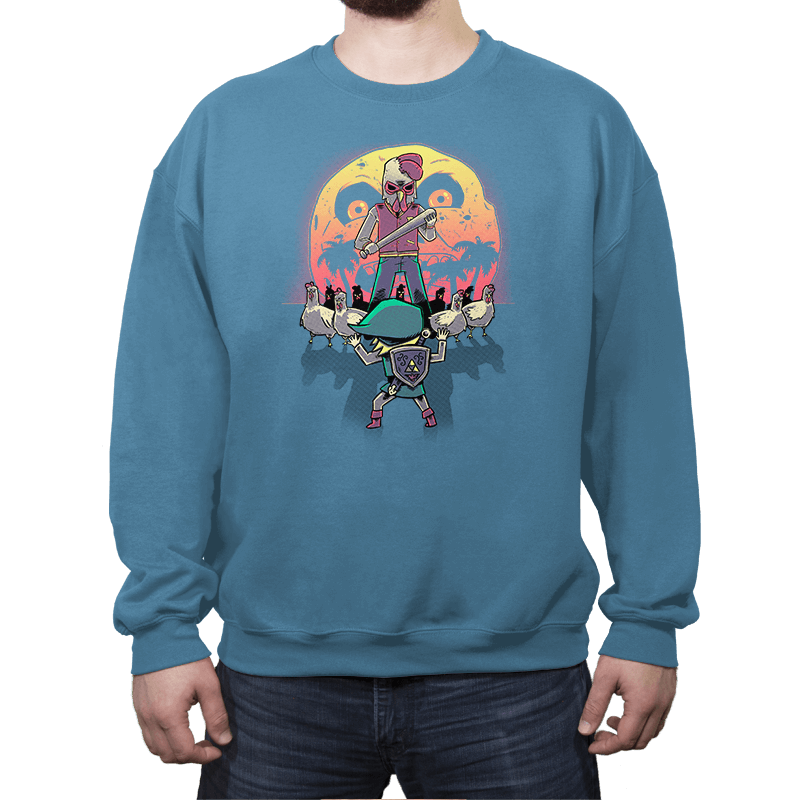 The Revenge - Crew Neck Sweatshirt - Crew Neck Sweatshirt - RIPT Apparel