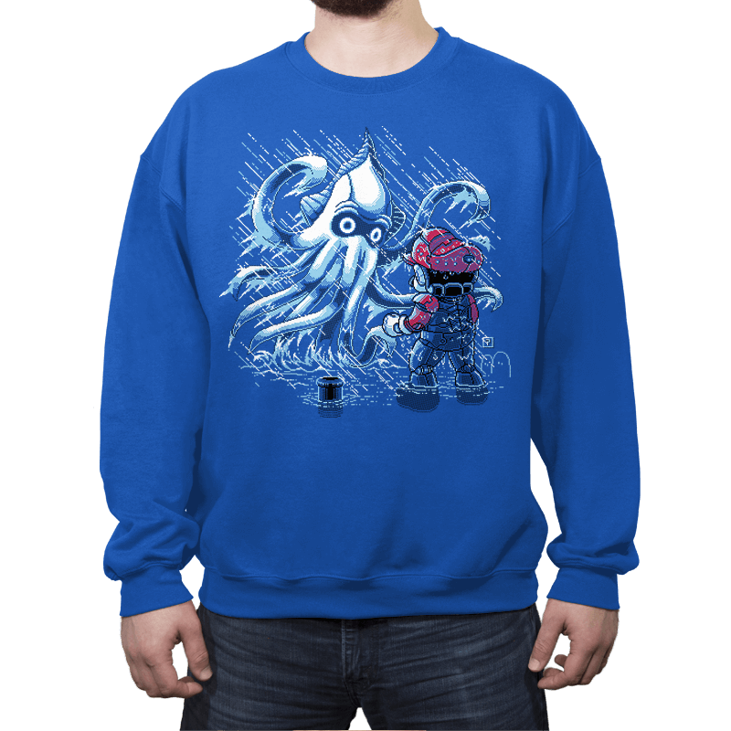 Pacific 'Shroom - Crew Neck Sweatshirt - Crew Neck Sweatshirt - RIPT Apparel